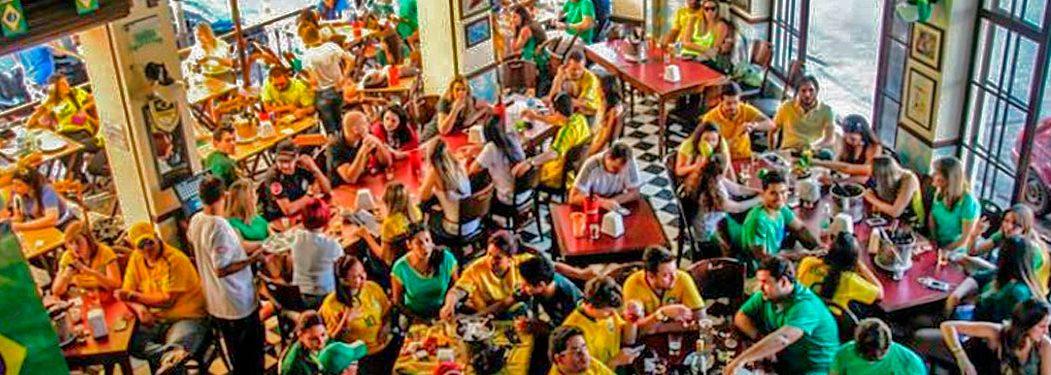 Bares para assistir os jogos da copa do mundo na região de Pinheiros