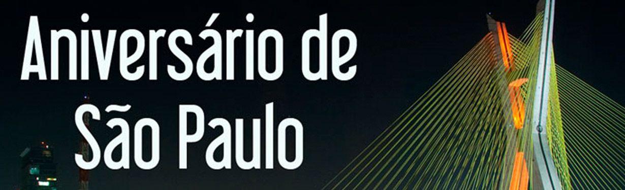 Aniversário de São Paulo 2020
