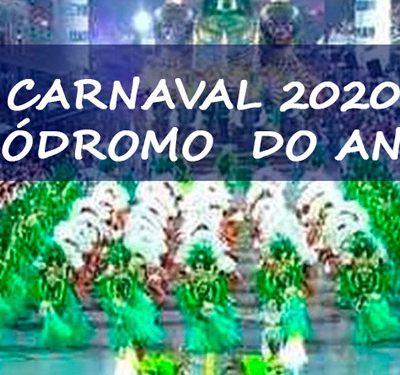 Carnaval 2020 - Sambódromo do Anhembi